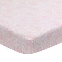 Signature Floral Bud Organic Cotton Fitted Crib Sheet - Lambs & Ivy