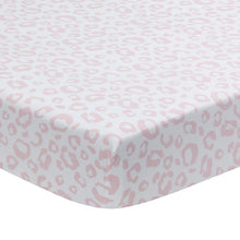 Signature Leopard Organic Cotton Fitted Crib Sheet - Lambs & Ivy