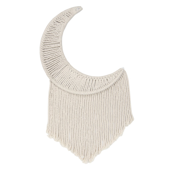 Signature Macrame Moon Wall Decor - Lambs & Ivy
