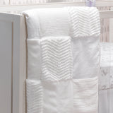 Signature White Patchwork Quilt by Lambs & Ivy