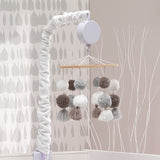 Signature Pom Pom Musical Baby Crib Mobile by Lambs & Ivy