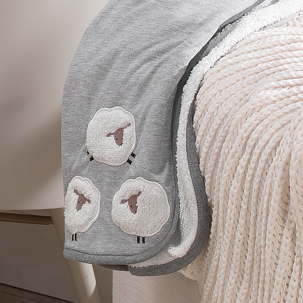 Sleepy Sheep Baby Blanket by Lambs & Ivy