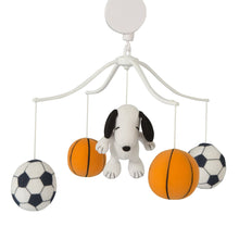 Snoopy™ Sports Musical Baby Crib Mobile - Lambs & Ivy