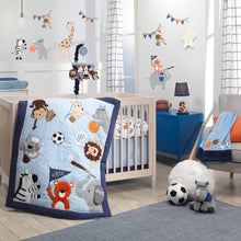 Sports Fan 4-Piece Crib Bedding Set by Lambs & Ivy