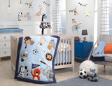 Sports Fan Musical Baby Crib Mobile by Lambs & Ivy