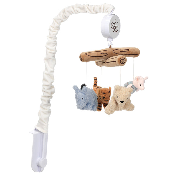 Storytime Pooh Musical Baby Crib Mobile by Lambs & Ivy