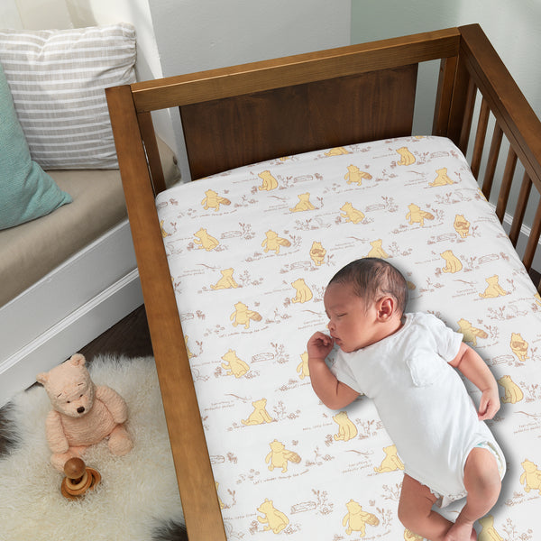 Storytime Pooh 3-Piece Crib Bedding Set by Lambs & Ivy