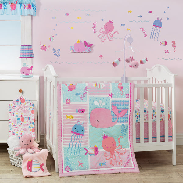 Sugar Reef 3-Piece Crib Bedding Set by Bedtime Originals