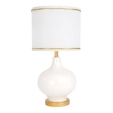 Signature Swan Princess Lamp with Shade & Bulb by Lambs & Ivy