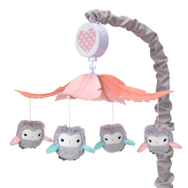 Sweet Owl Dreams Musical Baby Crib Mobile by Lambs & Ivy