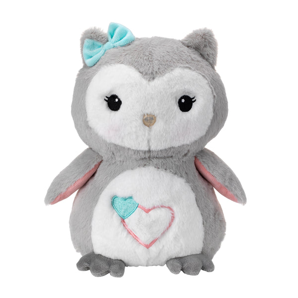 Sweet Owl Dreams Plush - Sugar Cookie by Lambs & Ivy