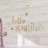 Hello Beautiful Wall Decals - Lambs & Ivy