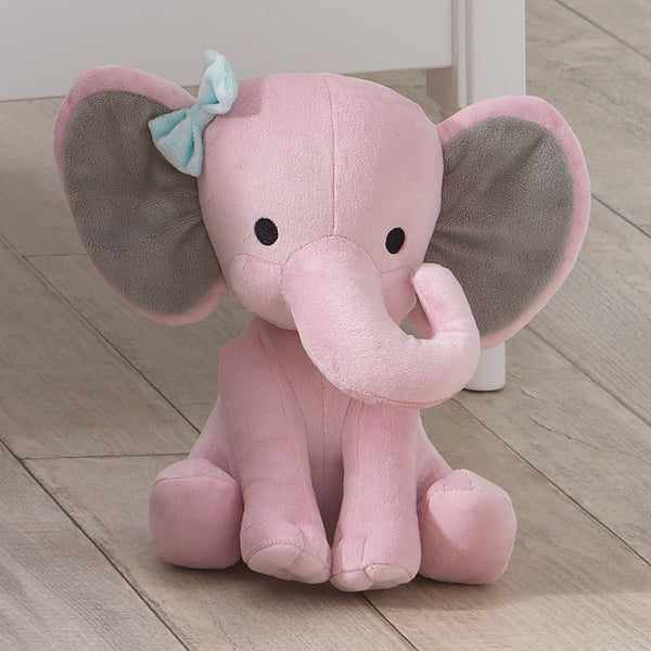 "Twinkle Toes Plush Elephant 10"" Hazel by Bedtime Originals"