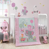 Twinkle Toes 3-Piece Crib Bedding Set by Bedtime Originals