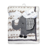 Urban Jungle Baby Blanket by Lambs & Ivy