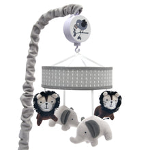 Urban Jungle Musical Baby Crib Mobile by Lambs & Ivy