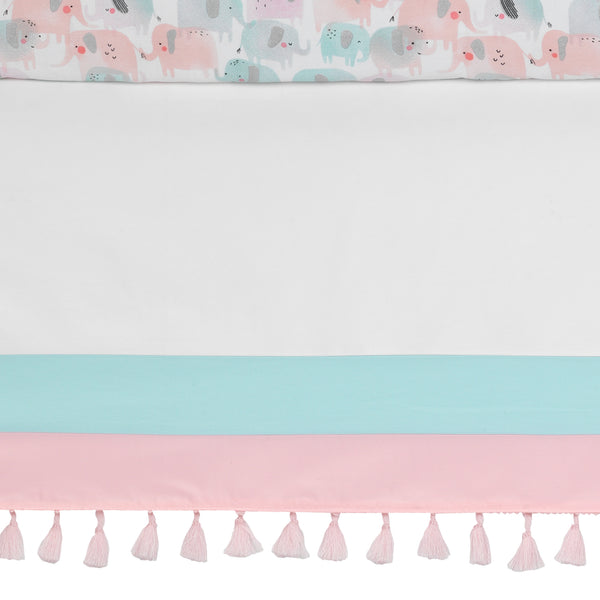Watercolor Pastel 5-Piece Crib Bedding Set by Lambs & Ivy