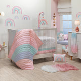 Watercolor Pastel Musical Baby Crib Mobile by Lambs & Ivy