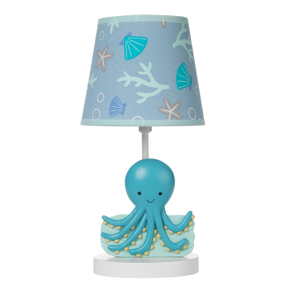 Whales Tale Lamp with Shade & Bulb by Bedtime Originals