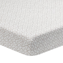Signature Tribal Geo Organic Cotton Fitted Crib Sheet - Lambs & Ivy