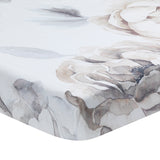Signature Watercolor Floral Organic Cotton Fitted Crib Sheet - Lambs & Ivy