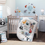 Wild Life Musical Baby Crib Mobile by Lambs & Ivy