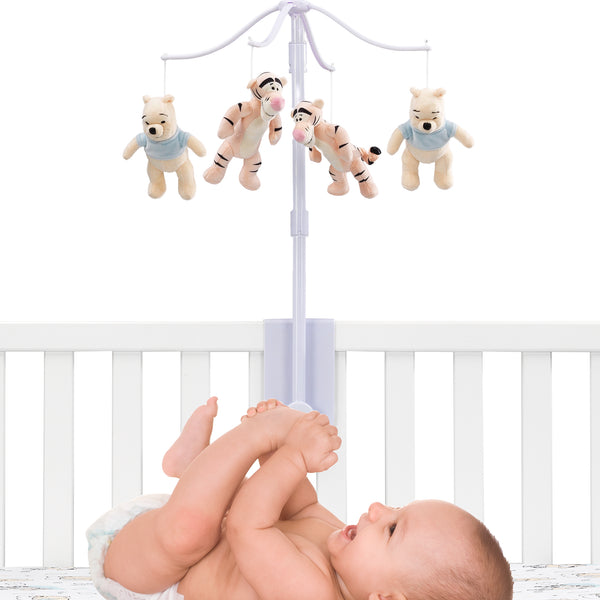 Winnie the Pooh Hugs Musical Baby Crib Mobile by Lambs & Ivy