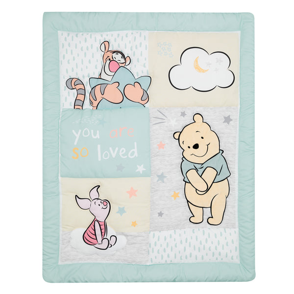 Winnie the Pooh Hugs 3-Piece Crib Bedding Set by Lambs & Ivy