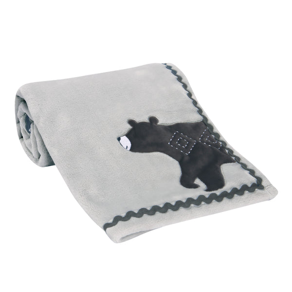Woodland Forest Baby Blanket - Lambs & Ivy