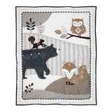 Woodland Forest 5-Piece Crib Bedding Set - Lambs & Ivy
