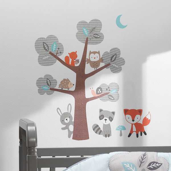 Woodland Friends Wall Decals - Lambs & Ivy