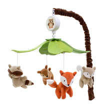 Woodland Tales Musical Baby Crib Mobile by Lambs & Ivy