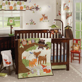 Woodland Tales Musical Baby Crib Mobile - Lambs & Ivy