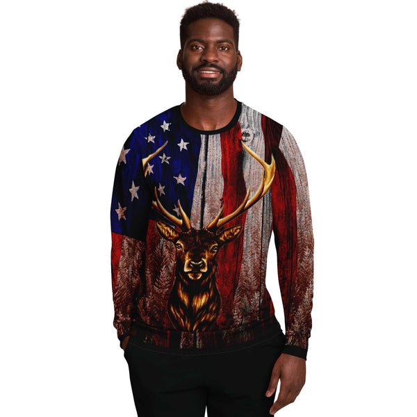 American Beautiful Deer Sweat shirt-2021