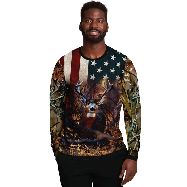 American Deer Shoot Sweat shirt-2021