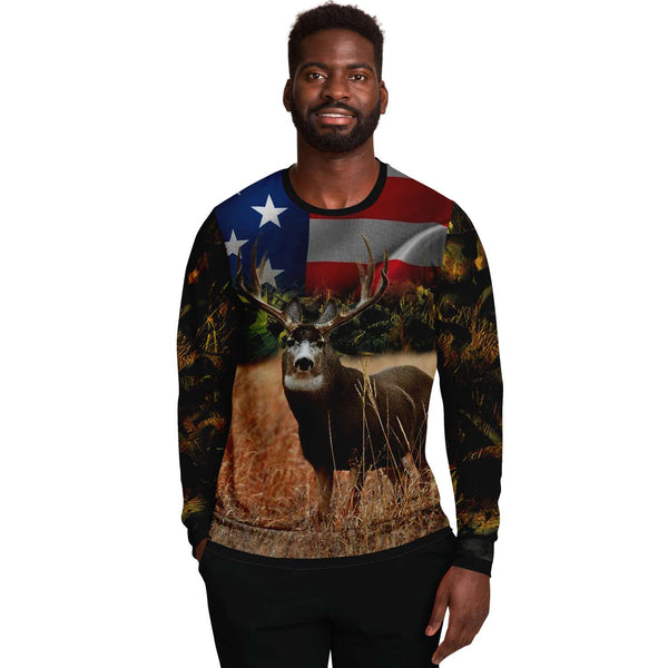 American Amazing Deer Sweat shirt-2021