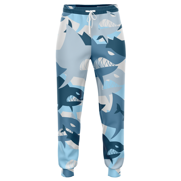 Athletic blue shark camo pant-2021