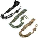 Airsoft Tactial Single Point Pistol Handgun Spring Lanyard Sling Quick Release Shooting Hunting Strap Army Combat Gear lanyard|Hunting Gun Accessories