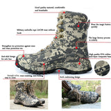 CUNGE Outdoor Tactical Sport Men's Shoes Waterproof Hiking Shoes Male Outdoor Winter Hunting Boots Mountain Shoes Men Army Boot|Hiking Shoes