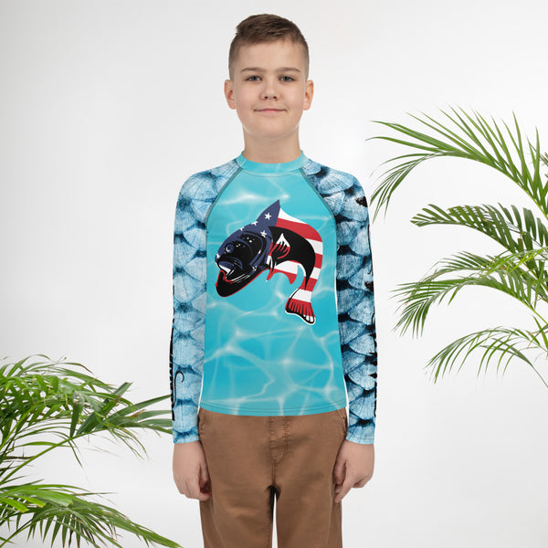 Youth Rash Guard Made in The USA