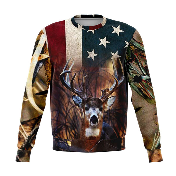 American Buck Sweat shirt-2021