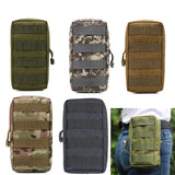 Tactical Molle Pouch Bag Utility EDC Pouch for Vest Backpack Belt Outdoor Hunting Waist Belt Pack Military Accessory Bag
