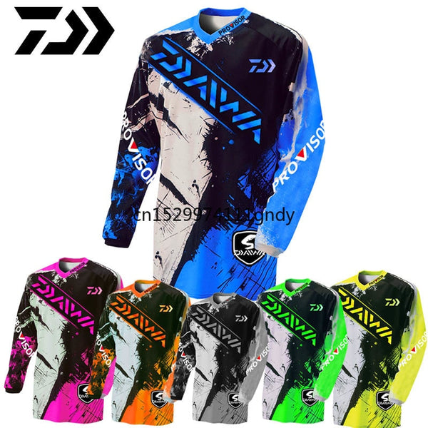 2020 Daiwa Anti-uv Fishing Jersey Breathable Quick Dry