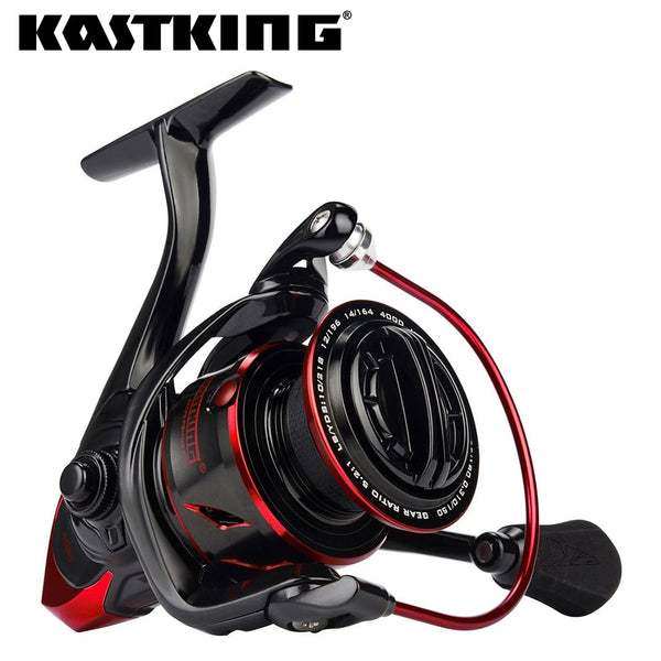 KastKing Sharky III 18KG Max Drag Spinning Reel 5.2:1 Durable Metal Body Freshwater Saltwater Fishing Reel 1000-5000 Series