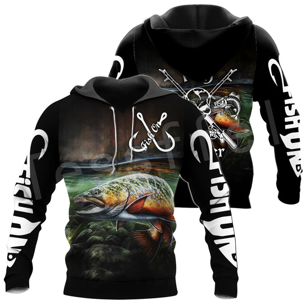 Fishing Hoodie Fish On