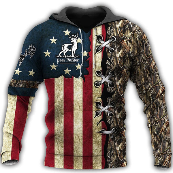 American Hunting Camouflage Jacket 3D