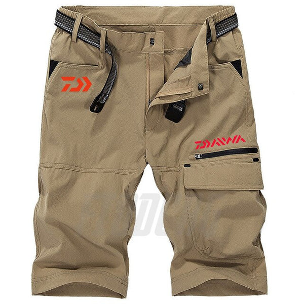 2020 New Daiwa Fishing Shorts Summer Sport Cotton Quick Dry Men Fishing Clothing Plus Size DAWA Breathable Fishing Pants