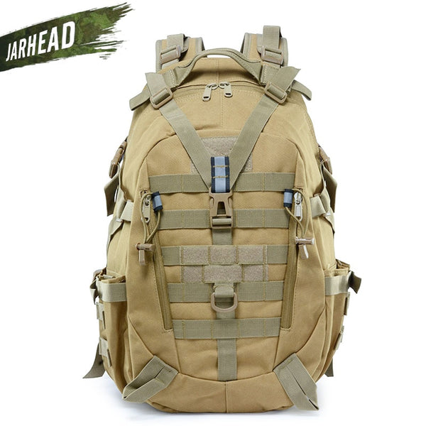 Tactical Reflective Backpack Outdoor Molle Camouflage Rucksack Military Assault Bag Hiking Camping Hunting Travel Bag
