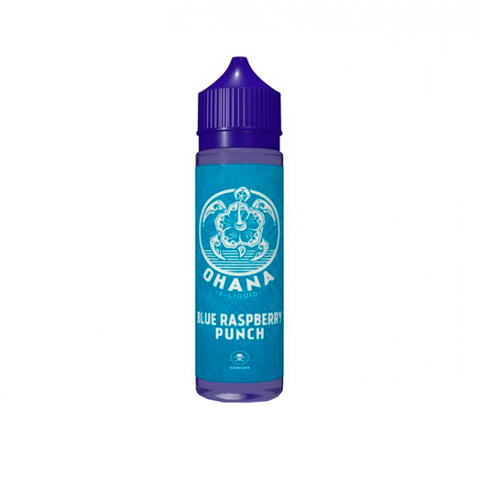 Ohana Blue Raspberry Punch 50ml 0mg