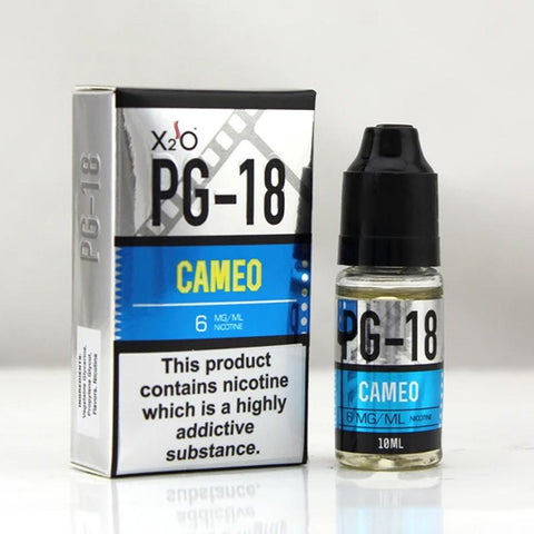 X2O  PG-18 Cameo with nicotine